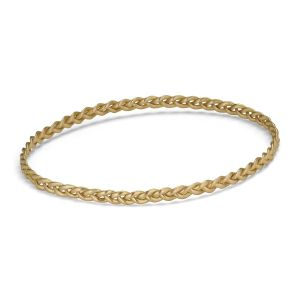 Braided Bracelet, 18 karat guld