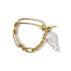 Pearl Bridle Bracelet, 18 karat guld