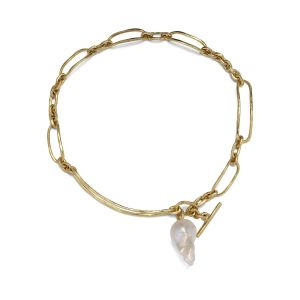 Pearl Bridle Necklace, 18 karat guld