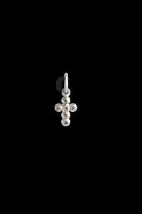Cross Pendant with 6 Diamonds