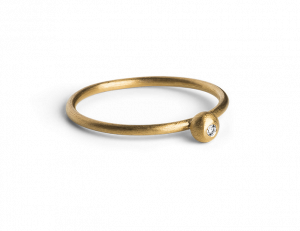 Princess Ring, forgyldt sterlingsølv