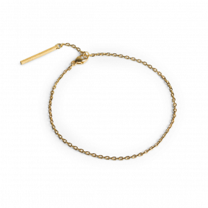 Anchor Chain  Bracelet, forgyldt sterling sølv
