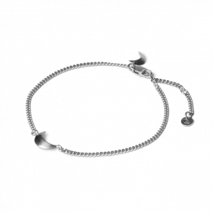 Half Moon Bracelet, sterlingsølv