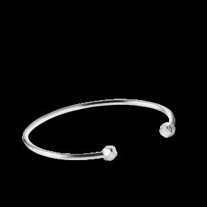 Simple Bead Bracelet, sterling sølv