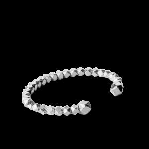 Chunky Bead Bracelet, sterling silver