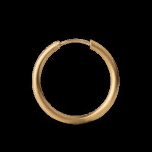 Medium Hoops, 18 karat guld