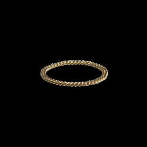 Small Chain Ring, 18 karat guld