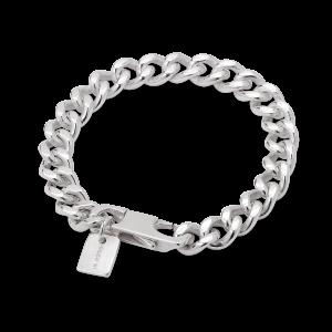 F+E Chain Bracelet, sterling sølv