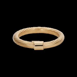 Medium Salon Ring, forgyldt Sterling sølv