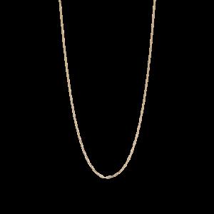 Stretched Anchor halskæde, forgyldt sterlingsølv