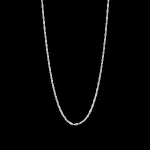 Stretched Anchor halskæde, sterlingsølv