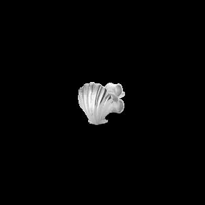 Salon Scallop Front ørestik, sterlingsølv