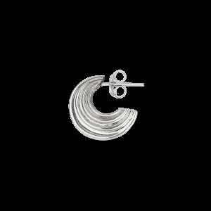 Small Sculpture Earring, sterling sølv