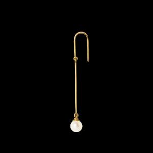 Pearl Earring, 18 karat guld