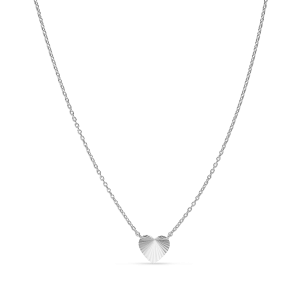 Reflection Heart necklace, sterlingsølv