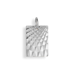 Reflection Square pendant, sterlingsølv