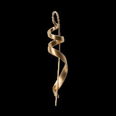 Guldbelægning, medium