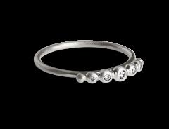 Big Diadem Ring, sterlingsølv