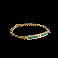 Love Link Bracelet, forgyldt sterlingsølv