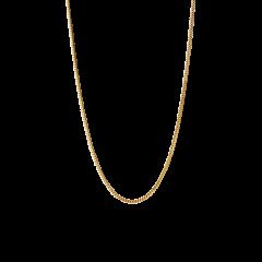 Curb Chain, forgyldt sterlingsølv