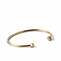 Simple Bead Bracelet, forgyldt sterling sølv