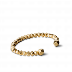 Chunky Bead Bracelet, forgyldt sterling sølv