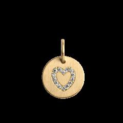Lovetag Pendant with Diamonds