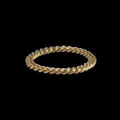 Big Chain Ring, 18 karat guld