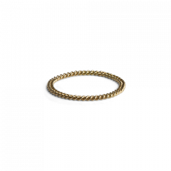 Small Chain Ring, 18 karat guld