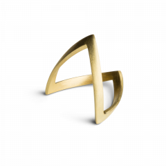 V Ring, 18 karat guld