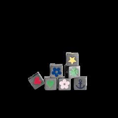 Love Letter Symbols, vedhæng rhodineret sterlingsølv