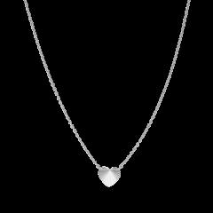 Reflection Heart necklace, sterlingsølv