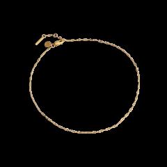Souvenir Anklet, forgyldt sterling sølv