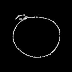Souvenir Anklet, sterling sølv