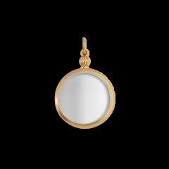 Souvenir Medallion, forgyldt sterling sølv